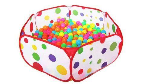 Игрушки Cухой бассейн с шарами(500 шт) напрокат | Аренда и прокат – Москва