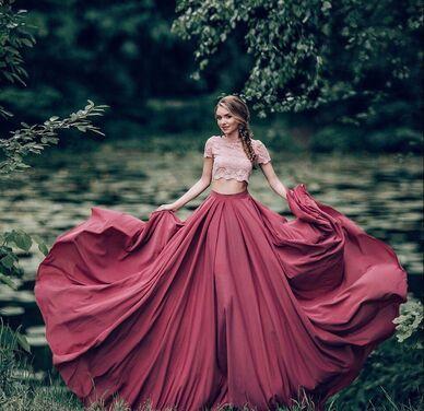 Платья Розовый комплект юбка + топ напрокат | Аренда и прокат – Санкт-Петербург
