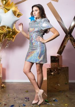 Платья Платье в стиле 80-х с пайетками напрокат | Аренда и прокат – Санкт-Петербург