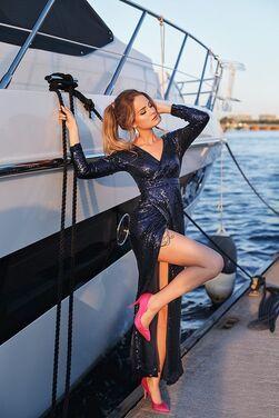 Платья Вечернее платье в пайетках  напрокат | Аренда и прокат – Санкт-Петербург
