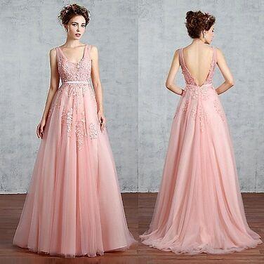 Платья Вечернее расшитое персиковое платье напрокат | Аренда и прокат – Москва