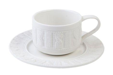 Другое  Чайная пара «Вязаный орнамент» напрокат | Аренда и прокат – Новосибирск
