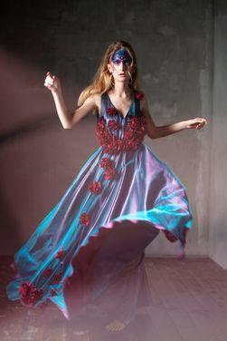 Платья Платье с цветами (от кутюр) напрокат | Аренда и прокат – Москва