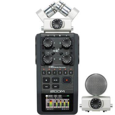 Рекордеры Цифровой рекордер ZOOM H6 напрокат | Аренда и прокат – Санкт-Петербург