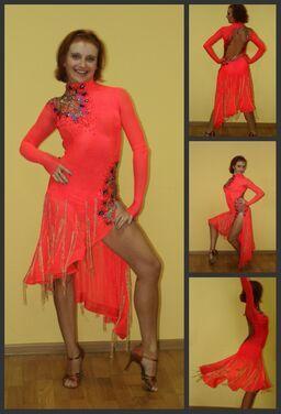 Танцевальные костюмы Платье для Латины напрокат | Аренда и прокат – Москва