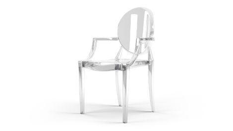 Стулья Louis Ghost Chair напрокат | Аренда и прокат – Москва