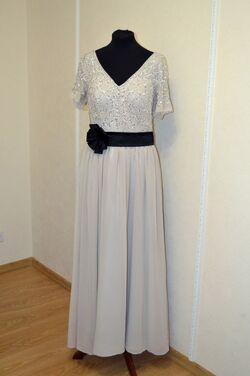 Платья Вечернее платье серое напрокат | Аренда и прокат – Самара