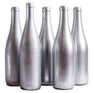Банки и бутылки Набор из 5 бутылей «Серебро» напрокат | Аренда и прокат – Ульяновск