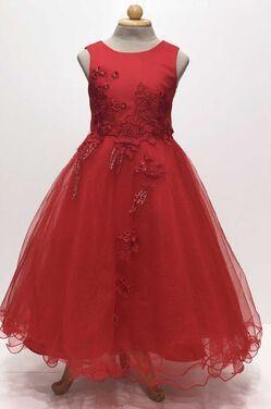Платья и одежда для девочек Нарядное  красное платье напрокат | Аренда и прокат – Пермь