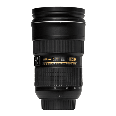 Фотообъективы Nikon 24-70mm f/2.8G ED AF-S Nikkor напрокат | Аренда и прокат – Санкт-Петербург