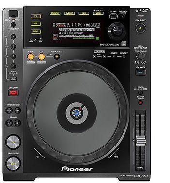 Звук Pioneer CDJ 850 напрокат | Аренда и прокат – Москва