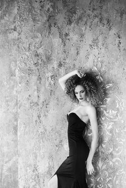Платья Черное платье силуэтное напрокат | Аренда и прокат – Санкт-Петербург