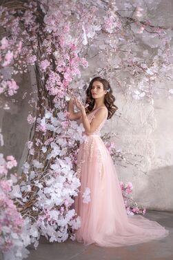 Платья Вечернее розовое платье напрокат | Аренда и прокат – Санкт-Петербург