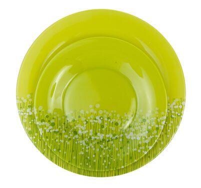 Тарелки  Набор из 2 тарелок зеленого цвета напрокат   Аренда и прокат – Новосибирск