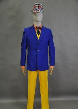 Ролевые костюмы Костюм стиляги жёлто-синий напрокат | Аренда и прокат – Москва