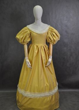 Исторические костюмы Бальное платье середины 19 века напрокат | Аренда и прокат – Москва