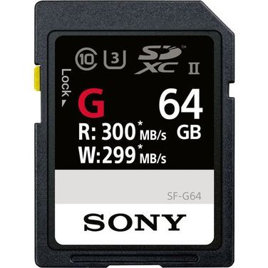 Носители данных и карты памяти Карта памяти 64Gb Sony SDXC UHS-II  напрокат | Аренда и прокат – Санкт-Петербург