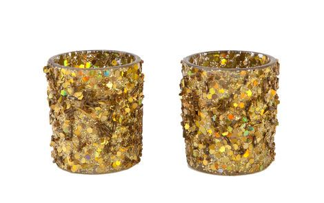 Подсвечники и канделябры Набор из 2 подсвечников «Золото» напрокат | Аренда и прокат – Новосибирск