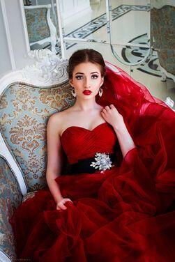 Платья Бордовое вечернее платье  напрокат | Аренда и прокат – Санкт-Петербург