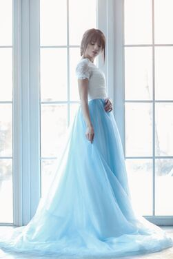 Платья Платье голубая бабочка напрокат | Аренда и прокат – Москва