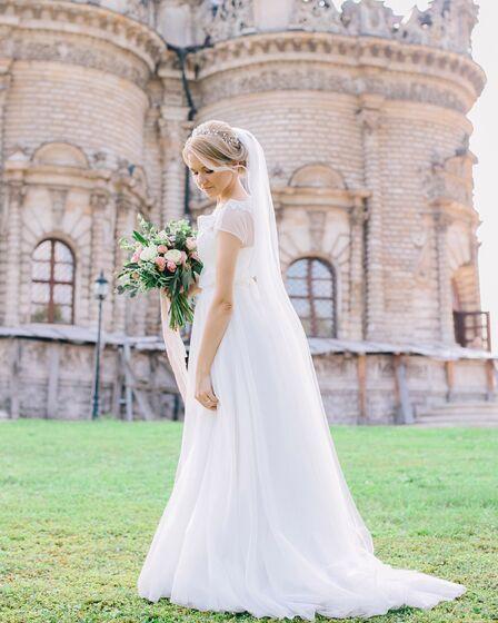 0121593f40a 12 просмотров в этом месяце. 12 просмотров в этом месяце. Свадебное платье  Gabbiano Гемма. Платья. 5000 руб.   3 дня