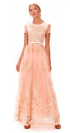 7a5505d35669a14 АРЕНДА- Платье Вечернее платье персиковое. Цена - 3500 р. за 3 дня ...