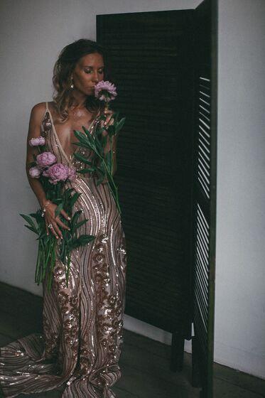 fd22076297d АРЕНДА- Платье Золотое платье с пайетками в пол. Цена - 1500 р. за 3 ...