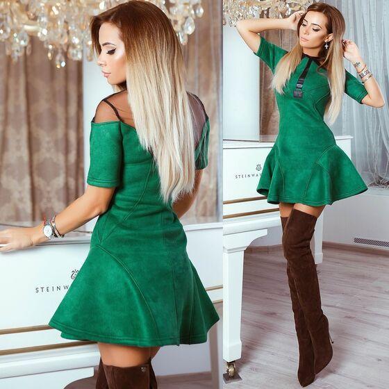 9cfa813767c1349 АРЕНДА- Платье Замшевое платье. Цена - 1900 р. за 3 дня | Москва