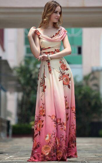 1388dce9e022748 ПРОКАТ- Платье Летнее платье с цветочным принтом. Цена - 1500 р. за ...