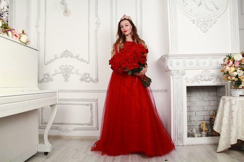 342d38c44d3 АРЕНДА- Платье Красное платье