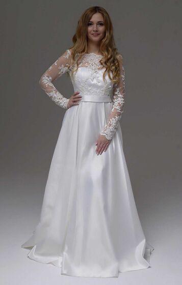 aa77e17e1fc 4 просмотра в этом месяце. 4 просмотра в этом месяце. Свадебное платье с  рукавами 207. Платья. 12500 руб.   3 дня. Залог 5000 руб. Вернется после  аренды