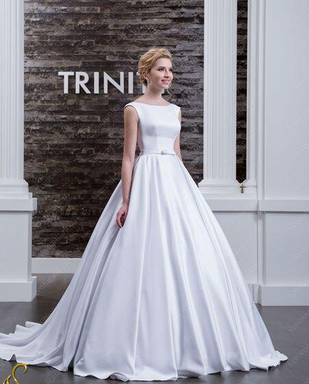 075b4c577e8 ПРОКАТ вещи- Платье Атласное свадебное платье