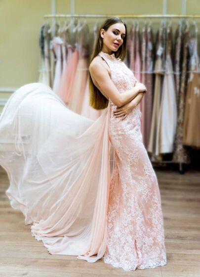 fa601e4f7a7081b ПРОКАТ вещи- Платье вечернее платье с шлейфом Jovani. Цена - 9000 р ...